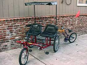 Side-by-Side Team Dual Trike