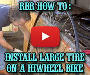 How to Ride a Hiwheel Bicycle
